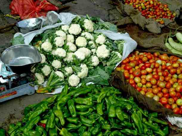 Rajasthan (Jaipur), Vegetables in indian markets. maninio.com #Rajastanjaipur #Agradelhi