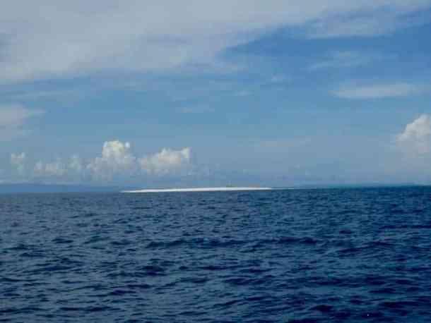Camiguin Island from far distance, Philippines. maninio.com #tourismphilippines #visitcamiguin
