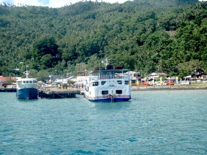 Camiguin Island port Philippines. maninio.com #tourismphilippines #visitcamiguin