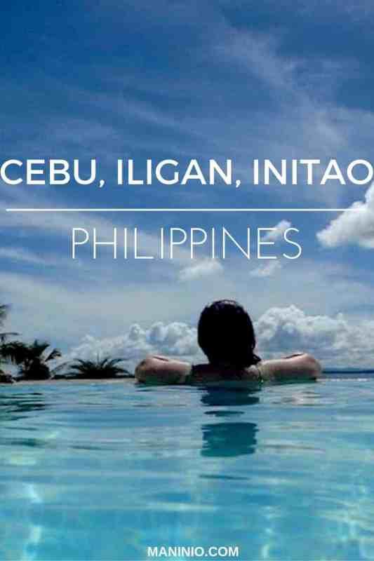 Cebu, Iligan & Initao city - (Part 1). maninio.com. #cebutourism #travelinphilippines