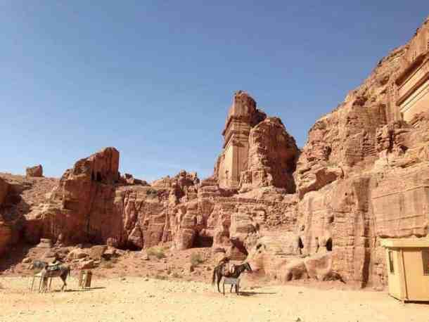 Petra Jewel of Jordan - maninio.com - Jordan wonders - Petra view - travel