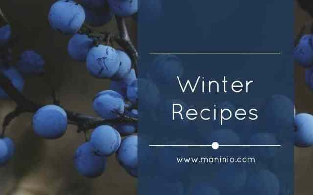 Maninio Winter Recipes