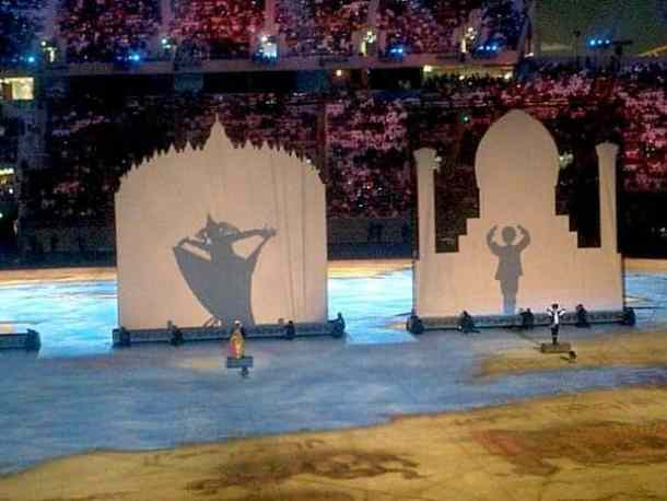 Doha Asian games opening ceremony. maninio.com #qatardohaasiangames #Eidcelebrations