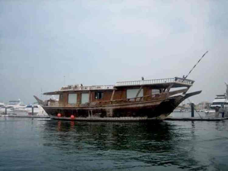 Pearl boat in Qatar. maninio.com #qatardohaasiangames #Eidcelebrations