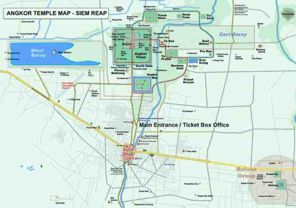 Angkor war Buddhist temple - maninio.com - temples -