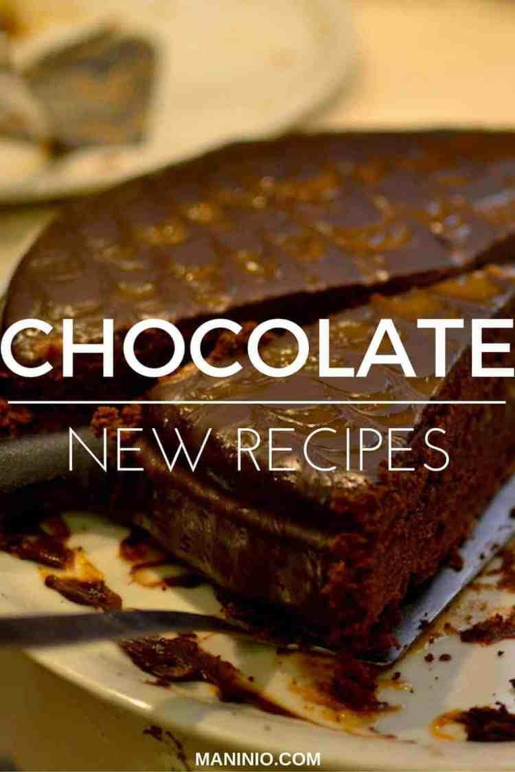 Chocolate - maninio - new - recipes
