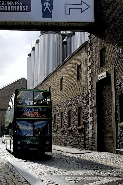 Guinness Experience tourist bus. maninio.com #irelandtourism #guinnessireland