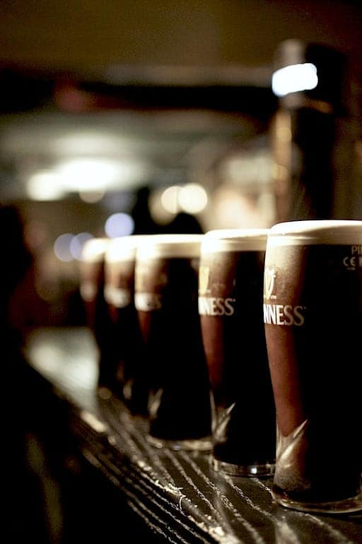 Guinness Experience beer glasses. maninio.com #guinnessexperience #guinnessireland