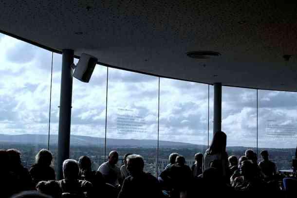 Roof top BAR IN ireland. maninio.com #guinnessexperience #guinnessireland