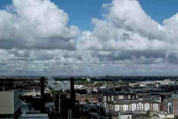 Guinness Experience roof top. maninio.com #guinnessexperience #guinnessireland