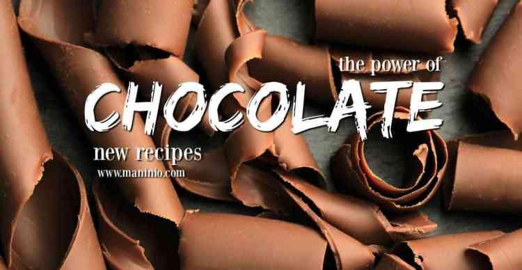 Η δύναμη της Σοκολάτας - Συνταγές