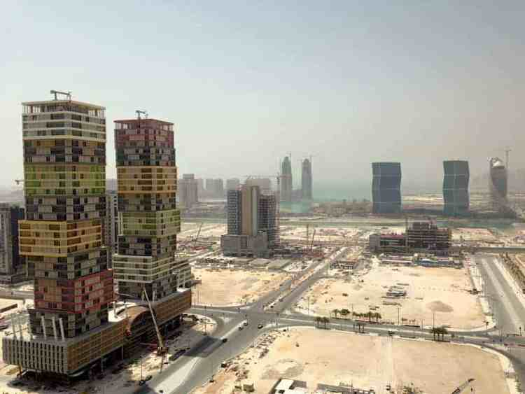 Lusail in Qatar maninio.com #constructiondoha #pearlqatar