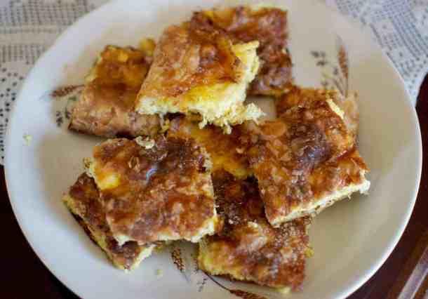 Eat as a vegan in Greece, Pumpkin pie #veganpumpkin #greekvegan maninio.com