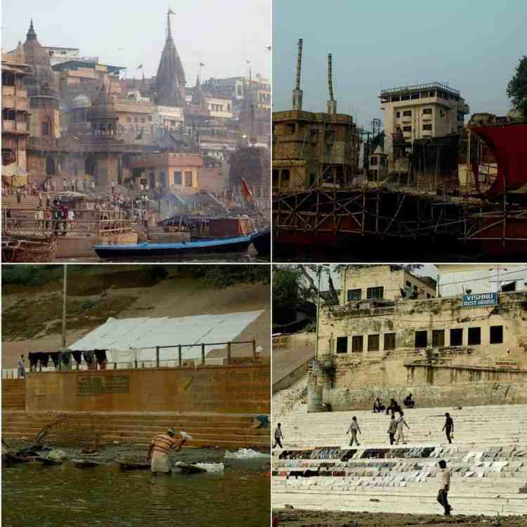 Varanasi, India - Between life & death, cremation areas. maninio.com