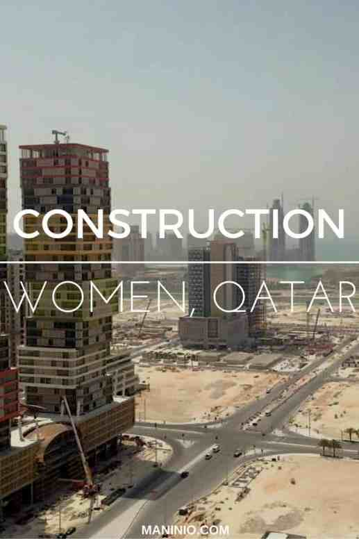 women - construction - qatar - engineering