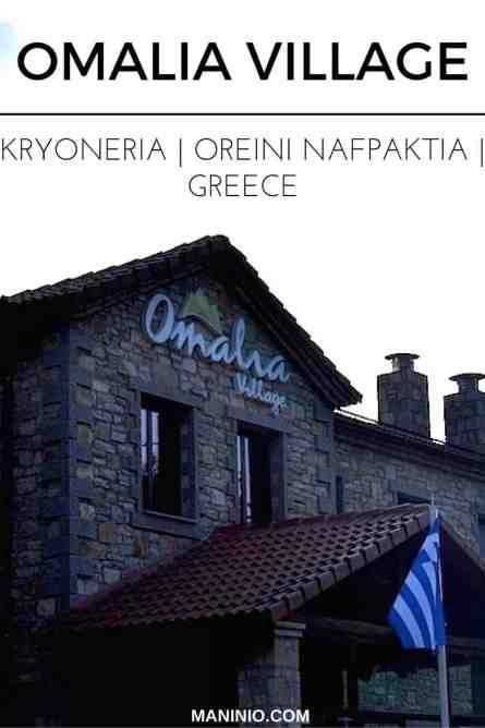 Omalia - village - orini - nafpaktia - maninio - greece - trekking