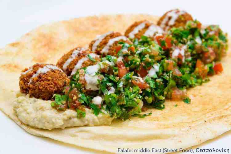 7 Vegan Delivery | Εστιατόρια, Θεσσαλονίκη Falafel middle east #veganrestaurants #greekvegan maninio.com