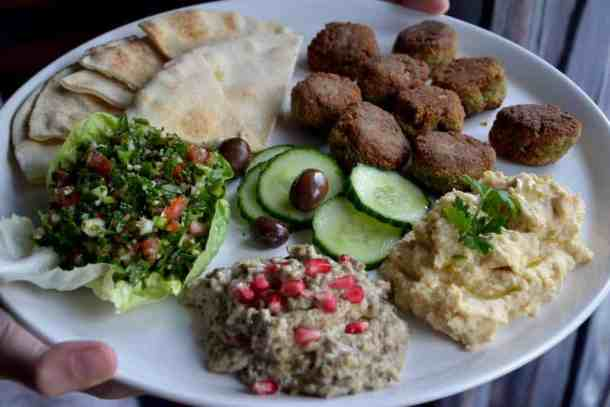 The original Arabic Moutabal (Baba Ganoush) | Middle East - Vegan. maninio