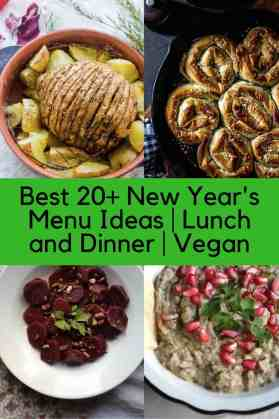 Best 20+ New Year's Menu Ideas   Lunch and Dinner   Vegan. maninio.com