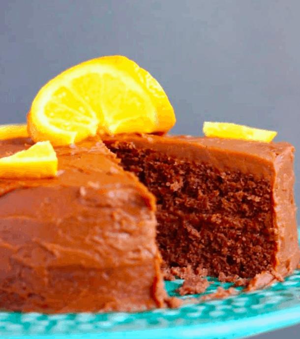 Vegan Chocolate cake. maninio.com