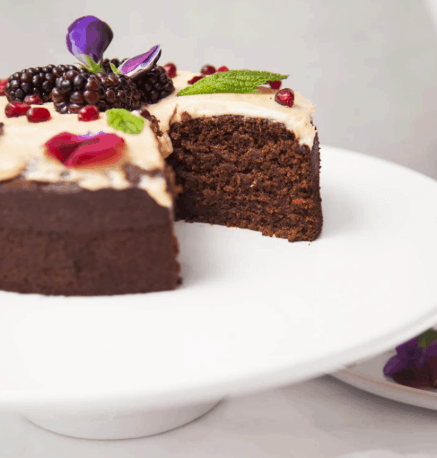 Best 20+ New Year's Menu Ideas | Lunch and Dinner | Vegan. Healthy Vegan Ginger Cake. maninio.com, Christmas menu