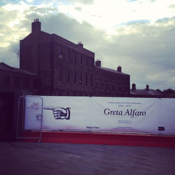 Greta Alfaro exhibition in King's Cross London