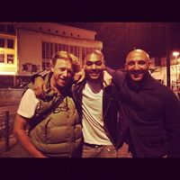 """Kano """"Thats a wrap"""". Big up Yann Demange and Anthony Dod Mantle."""