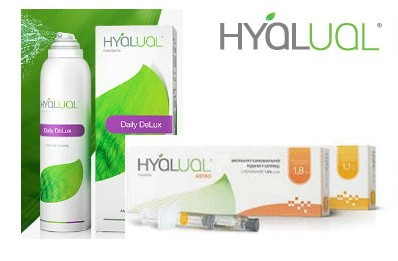 hyalual products from Rederm