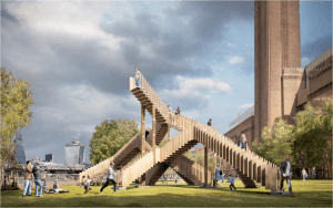 Endless Stair climbs into production phase as project location is moved to Tate Modern, Bankside