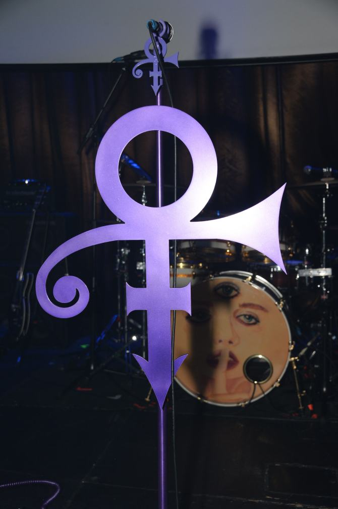 Performance by Prince for Belle after-party at the Hippodrome Casino, London, UK - 05 June 2014