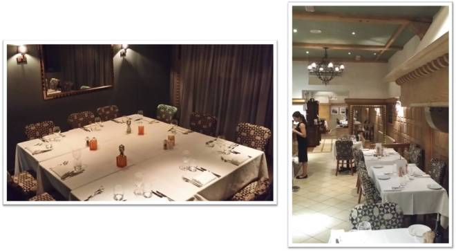 Pescatori Mayfair private dining room and ground floor restaurant