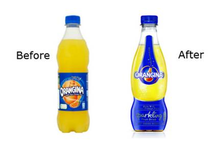 Orangina is reinventing itself in the UK market and undergoing a complete update including new visual design by BrandMe.