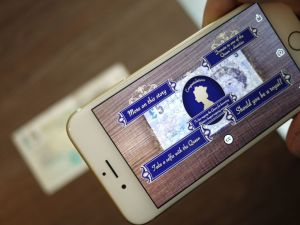 Banknotes come to life to tell the story of the Queen's reign with Blippar