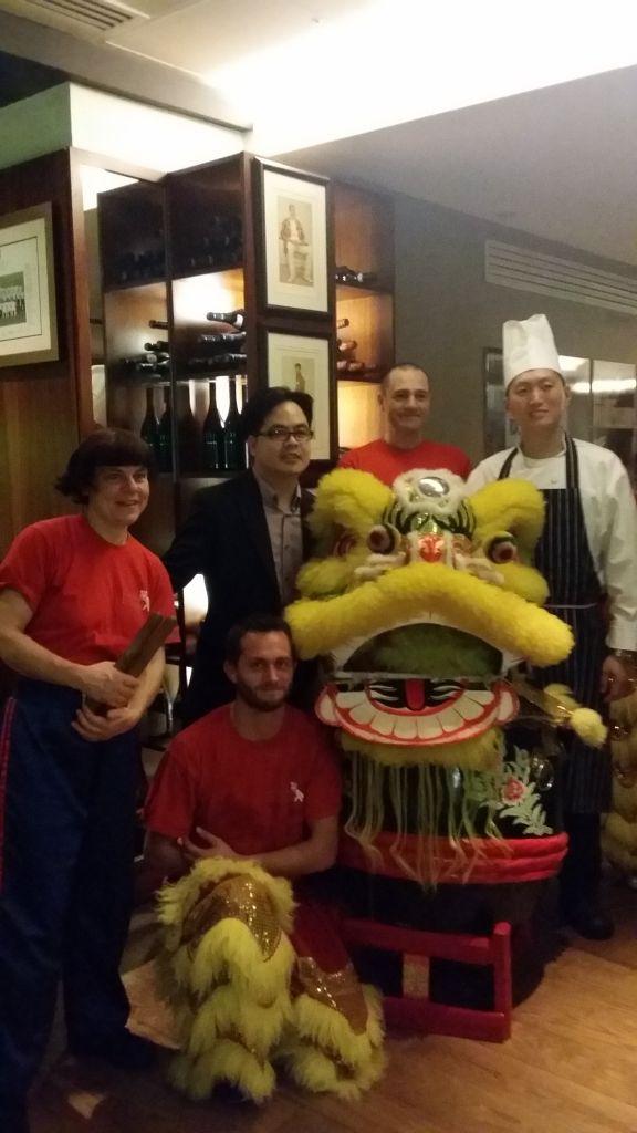 Head Chef Ken Wang at Chinese Cricket Club
