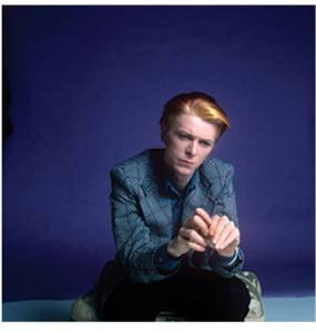 From Bowie by Steve Schapiro, published by powerHouse Books blue