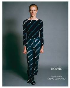 """From """"Bowie by Steve Schapiro"""" published by powerHouse Books cover"""
