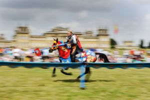 Spring Jousting Tournament at Blenheim Palace