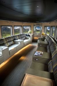 Park car - Via Rail's new Prestige Class Service
