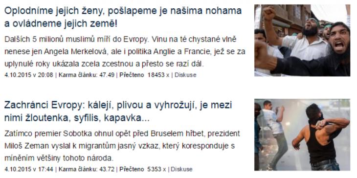 Výřez článků na blogu (Michal Malý na blog.idnes.cz)