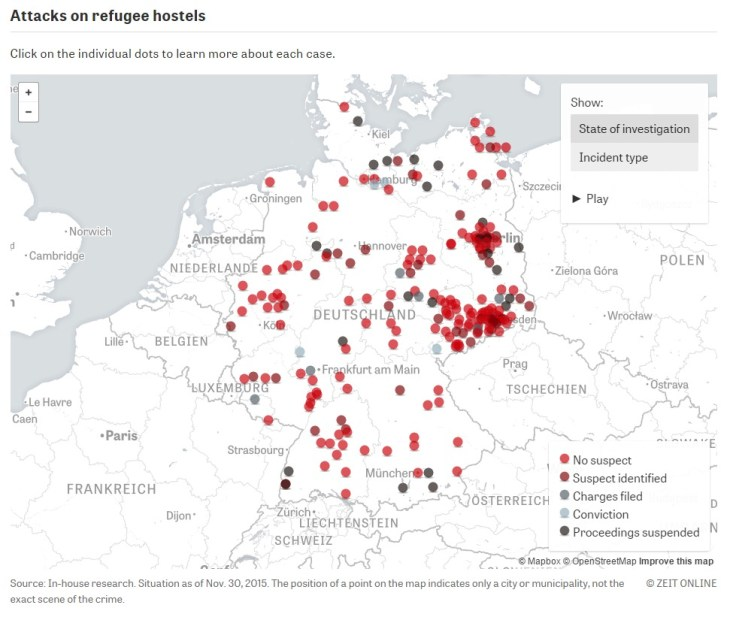 Violence against refugees Germany in flames  ZEIT ONLINEa
