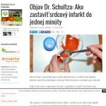 Objav Dr. Schultza Ako zastaviť srdcový infarkt do jednej minúty Alternatívna liečba Strava a zdravie Choroby Prírodná medicína