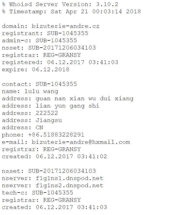 Internetoví šmejdi  eshop bizuterie-andre.cz f28f742a56