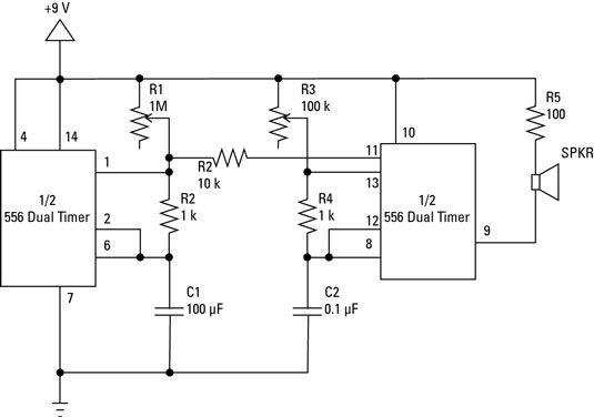 Componentes Electrónica: Circuitos integrados en Diagramas