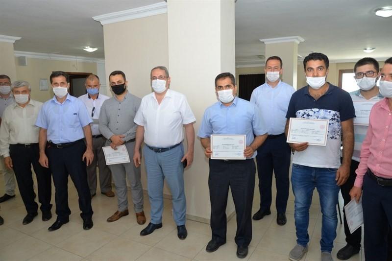 Salihli'de 40 kişi kurban kesim belgesi aldı