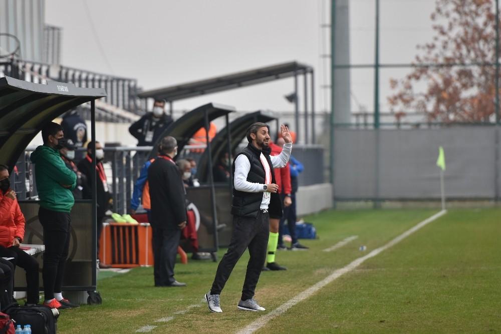 Teknik Direktör Özbalta maçı değerlendirdi