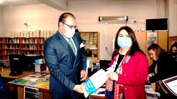 Sarıgöl'de Kütüphaneler Haftası kutlandı