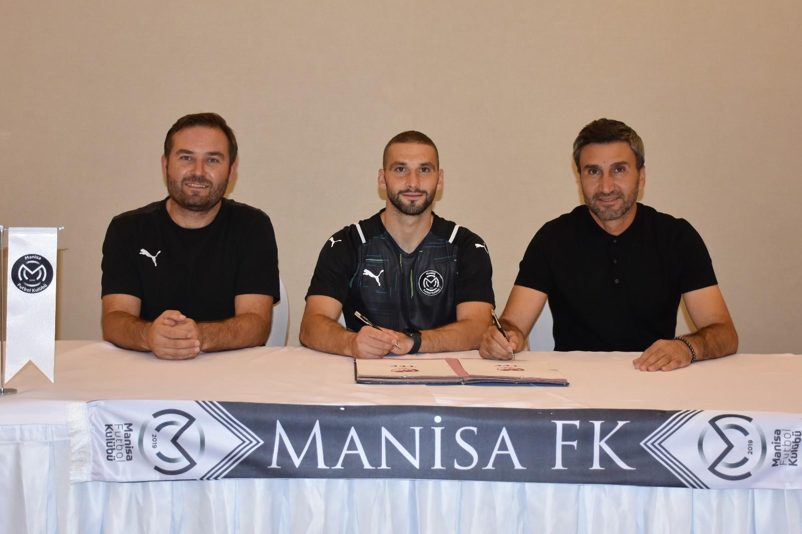 Nino Kouter, Manisa FK'da