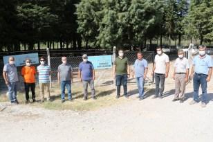 Soma ve Kırkağaç'ta mezarlıkların güvenliği sağlandı