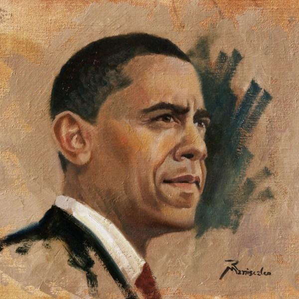 President Obama portrait