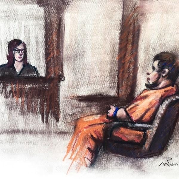 Joey Mook arraignment